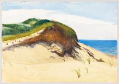 Dune by the Sea - Edward Hopper - The Athenaeum