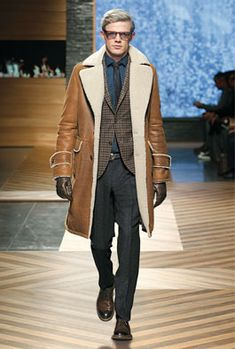 Ermenegildo Zegna | mens shearling coat | menswear | mens fashion | mens style