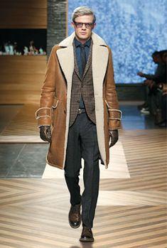 Ermenegildo Zegna | mens shearling coat | menswear | mens fashion | mens style