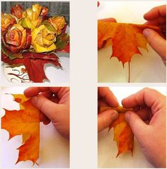 Fall Flowers, Fall Decor, Needlework, Diy And Crafts, Crafty, Halloween, Creative, Art Floral, Children