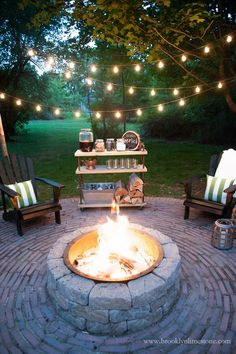 """Check out our web site for even more info on """"outdoor fire pit"""". It is an excellent spot to find out more. Backyard Patio Designs, Backyard Landscaping, Patio Ideas, Backyard Ideas, Outdoor Ideas, Outdoor Fire, Outdoor Living, Rustic Outdoor, Backyard Lighting"""