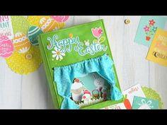 "(10) Мастер-класс Альбом-театр ""Happy Easter"" - YouTube"