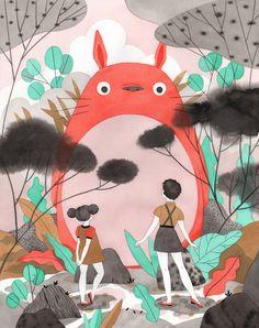 50+ Artists Pay Tribute to the Films of Hayao Miyazaki - BOOOOOOOM! - CREATE * INSPIRE * COMMUNITY * ART * DESIGN * MUSIC * FILM * PHOTO * PROJECTS