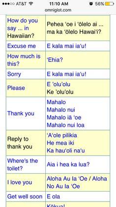 Hawaiian Sayings, Hawaiian Phrases, Hawaii Language, Hawaiian Princess, Aloha Spirit, Hawaii Life, Beach Quotes, Island Life, Hawaii Travel