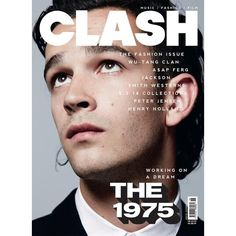 Out Now Clash's New Fashion Issue With The 1975 ❤ liked on Polyvore featuring fillers, pictures, books, magazine and the 1975