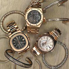 Rose gold everything  Patek Philippe Audemar Piguet or Rolex sky dweller  305-377-3335 www.diamomdclubmiam.com #AnilArjandasJewels #Rolex #PatekPhilippe #miami  #AudemarsPiguet #men #mensfashion #timepiece #mensfashionpost #watches #WatchesOfInstagram #watch #businessmen #businesscasual #rolexchallenge #rolexero  @anilarjandas