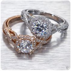 Veragio rings! 😍 So beautiful yet so expensive! :/