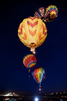 Reno Balloon Races -Dawn Patrol Celebration - center - Larry Houska we miss you!