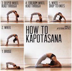 How to progress into Kapotasana | Pigeon Pose | Advanced backbends
