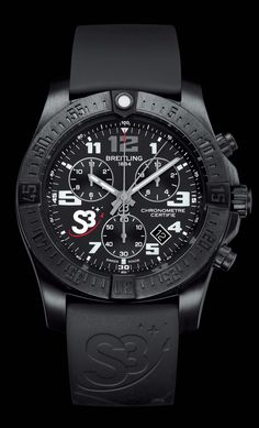 Chronograph S3. The Zero Gravity Watch. #swissspacesystems #s3zerog - Breitling - Instruments for Professionals