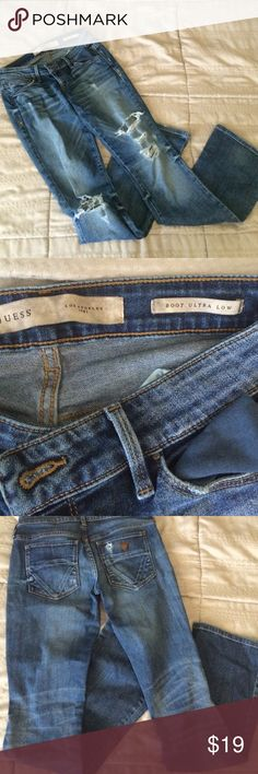 Guess jeans Very cute worn a couple times in great condition no flaws GUESS Jeans