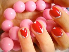 Awesome 20 Heart Nail Designs
