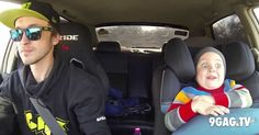 Father Of The Year Takes Son For A Ride In A Drift Car | 9gag.tv
