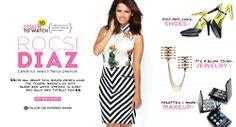 Rocsi Diaz for mark.girl! Shop her faves & look @ my Avon/mark eStore, http://ericagerlemann.avonrepresentative.com/!