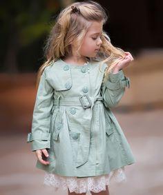 Sage Bella Coat - Girls by Trish Scully Child #zulily #zulilyfinds