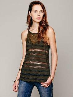Free People We The Free Festival Tank, 29.95 want it in Orange but thus is pretty too.