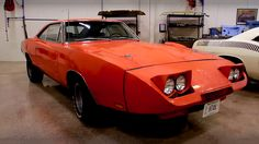 1969 Dodge Charger Daytona – Time Capsule Maintenance of old vehicles: the material for new cogs/casters/gears could be cast polyamide which I (Cast polyamide) can produce
