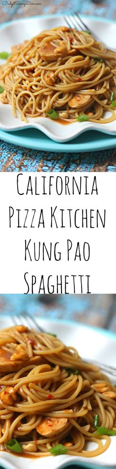 such a fun Copy Cat Recipe - My family loved and and it took under 30 minutes to make. I cannot wait to make the winner dinner again. California's Pizza Kitchen Kung Pao Spaghetti Recipe