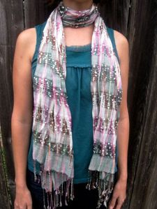 {Pink and Green Plaid Scarf} {Indian Plaid Scarf} www.tradesofhope.com A co-op with the name #Hope, made up of #young, #unmarried #women in remote areas of #India makes these #scarves. These #girls often #end up in the #sex #trade or #sweatshops if they leave their impoverished #villages. Now, through #Fair #Trade, many of these women are #empowered to be self-reliant, something that is sometimes unheard of in their #villages! #tradesofhope #fairtrade #love #change #life