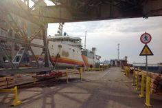 Συνεχίζονται οι εργασίες μετασκευής του πλοίου ΣΑΟΝΗΣΟΣ