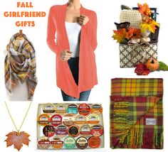 Fall girlfriend gifts - great gifts to give your BFFs this Autumn - perfect ways to say you and your friendship mean a lot to me!