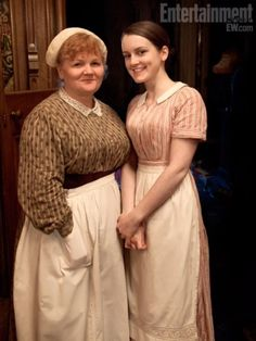 Mrs Patmore and Daisy