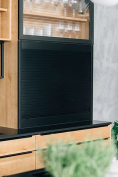 Led Spots, Kitchen Sets, Küchen Design, Home Appliances, Coffee Mornings, Types Of Wood, Kitchen Contemporary, Oak Tree, Black