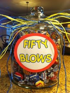Happy Birthday - Fifty blows!  lol