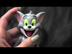 How do Tom and Jerry of sugar paste tutorial part 1, di pasta di zucchero, Том и Джерри из мастики, - YouTube