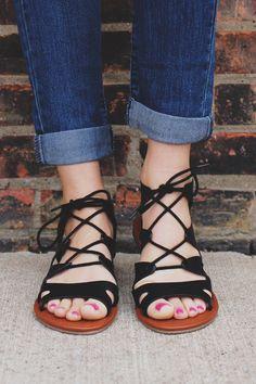 Fashionably Late Sandal