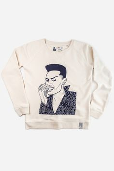 Browse Grace Sweater and more from Jill & Gill at Wolf & Badger - the leading destination for independent designer fashion, jewellery and homewares. White Sweaters, Sweaters For Women, Neck Collar, Boss Lady, Graphic Sweatshirt, Sweatshirts, Circular Economy, Sleeves, Spun Cotton