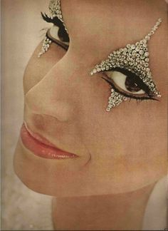 Eye makeup design by Pablo Manzoni,1965