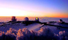 Mauna Kea's Summit, Big Island, Hawaii, USA
