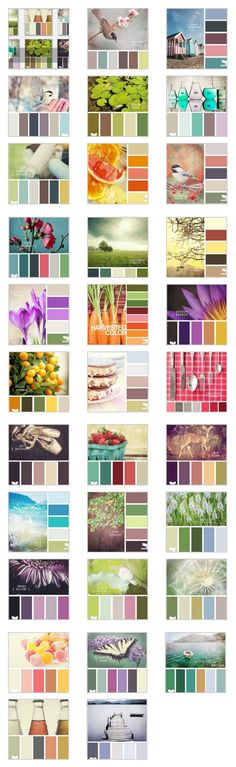 Fantastic color combos via Design Sees