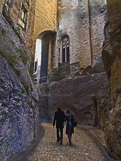 Rue Peyrollerie. Avignon