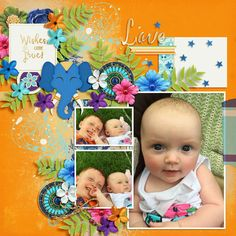 Layout using {Genie Wishes} Digital Scrapbook Collection by Dream Big Designs available at Scrap Orchard http://scraporchard.com/market/Genie-Wishes-Bundle.html #dreambigdesigns