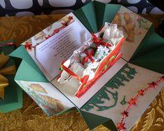 pudełko z saniami więcej na www.kasartt.blogspot.com