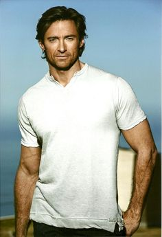 hugh jackman.. I just love him. Not only can he dance, sing and act..he is just georgeous