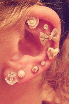 Lots of ear peircings.. love every one!