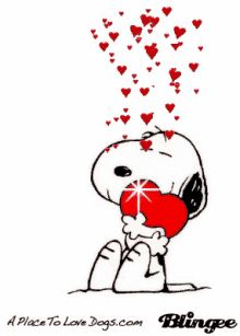 Snoopy Love GIF - Snoopy Love GIFs