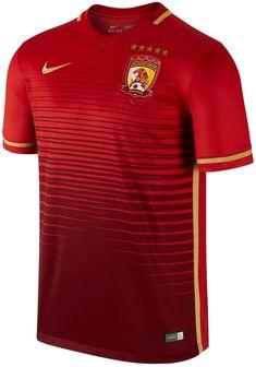 Nike divulga novas camisas do Guangzhou Evergrande - Show de Camisas Camisas  Estilosas f09abd0764bd5