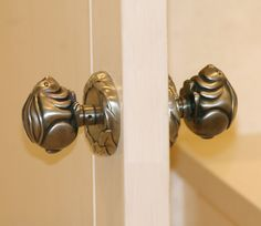 Custom Nickel Plated Bronze Bunny Door Knob Door Pulls, Door Knobs, Knobs And Handles, Door Handles, Design Your Dream House, Antique Brass, Creative Design, Bunny, Hardware
