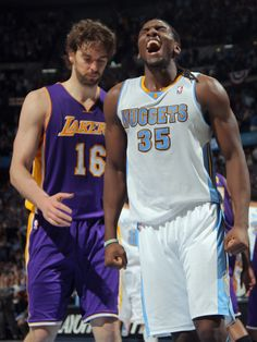 """Nuggets rookie Kenneth Faried """"The Manimal"""""""