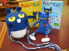 Pete the Cat hat! :)