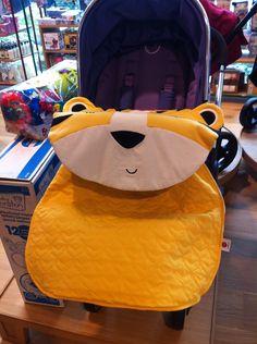 Peripop is a stroller blanket too!!