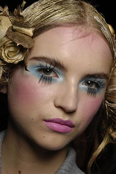 SS 2008 John Galliano / Make Up