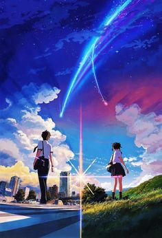 Japanese movie poster image for Kimi no na wa. The image measures 1261 * 855 pixels and is 707 kilobytes large. Film Manga, Manga Anime, Anime Art, Bad Trip, Kimi No Na Wa Wallpaper, Your Name Wallpaper, Your Name Anime, Mitsuha And Taki, Alien Girl
