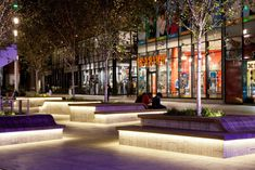 Almere City Mall - Colour and light re-energises iconic development Architectural Lighting Design, Landscape Lighting Design, Exterior Lighting, Outdoor Lighting, Mayor Of London, Public Realm, Indirect Lighting, Light Architecture, Studio