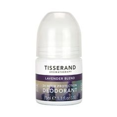 Aromatherapy for armpits Enriched with natural essential oils including lavender and lemon, this cooling roll-on deodorant is free from aluminium, parabens and synthetic fragrances. Tisserand Cooling Deodorant, for Tisserand Natural Essential Oils, Natural Oils, Lavender And Lemon, Beauty Care, Drink Bottles, Aromatherapy, Pure Products, Beauty Products