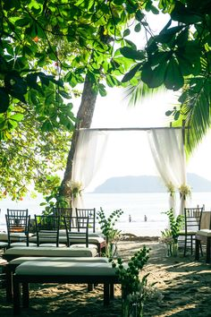 Swooning over the intimacy of this Costa Rica destination wedding ceremony